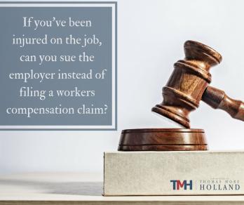 sue the employer